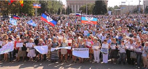 - Solidarité avec les République populaires du Donbass - Signez la pétition !