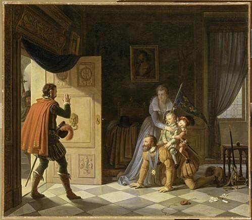 henri-iv-jouant-avec-ses-enfants---pierre-henri-revoil