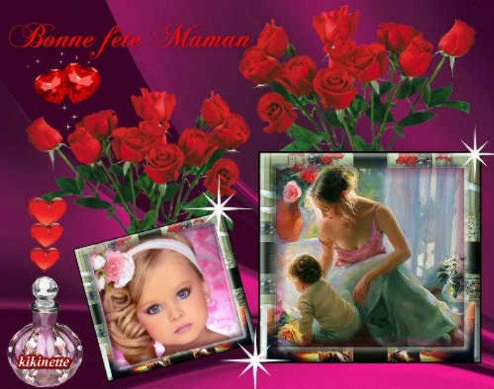 Bon week end et bonne fête à toutes les mamans