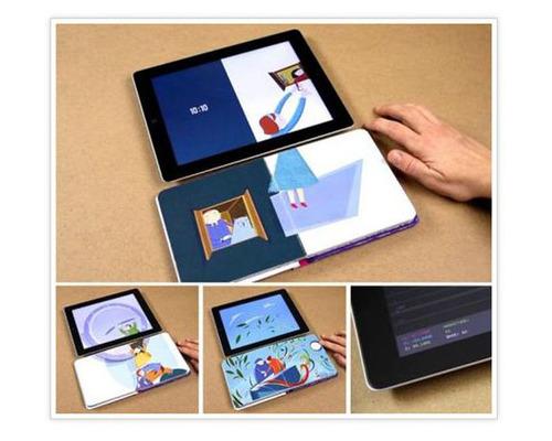 Livre qui communique avec iPad