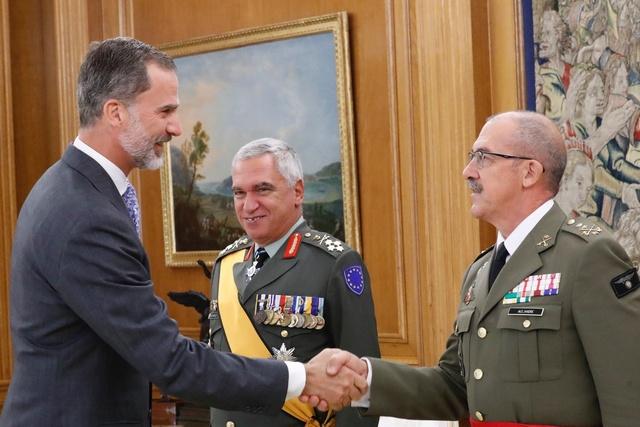 Audiencia al General Mikhail Kostarakos, Presidente del Comité Militar de la Unión Europea