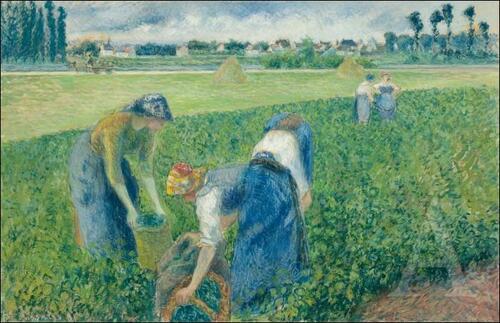 Camille Pissarro (Les Paysans)