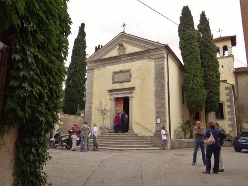 Le çâteau de Duino en Italie, à la frontière Slovène (photos)