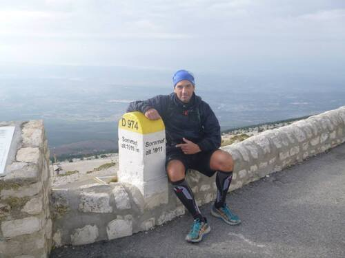 Ascension du mont Ventoux face nord par les sentiers