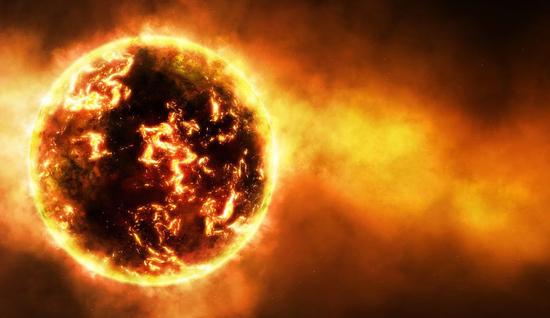 Feu physique, feu cosmique