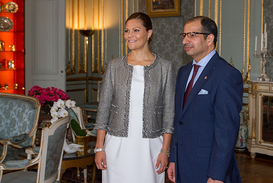 La princesse et le président