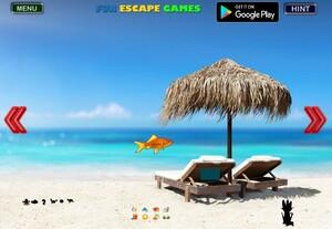 Jouer à Beach seashore fun escape