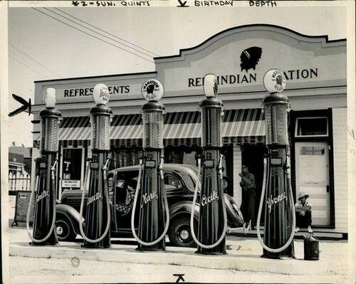05 - Les pompes à la station