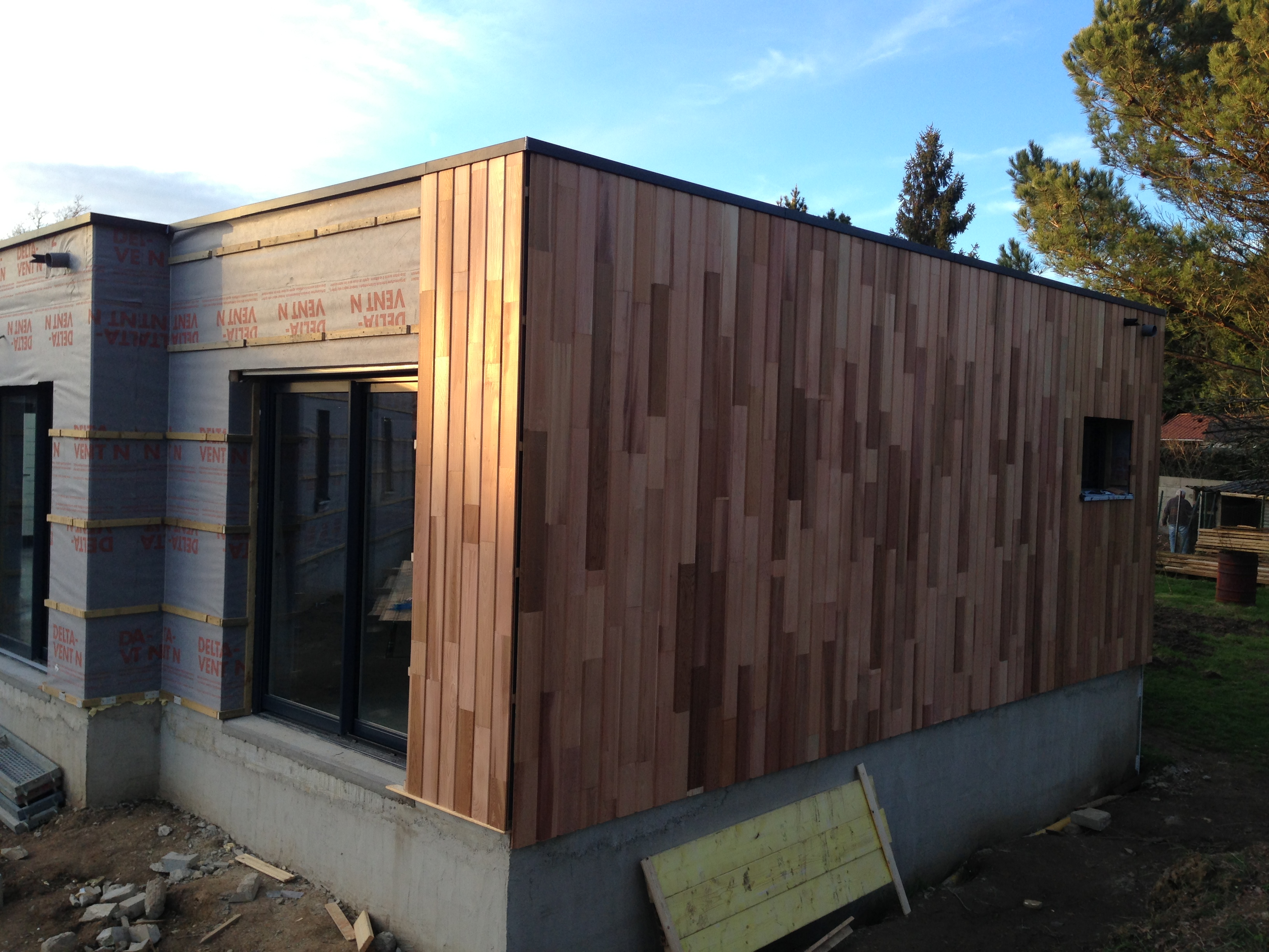 1000 ideas about bardage red cedar on pinterest mur en - Bardage red cedar ...