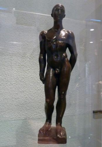 Banyuls - Musée Maillol Le jeune homme 1930