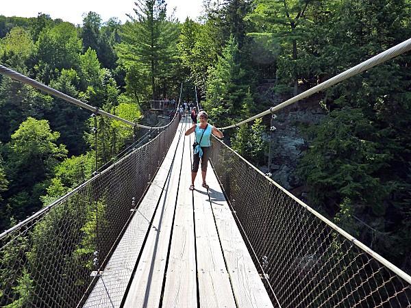 Canyon Ste Anne pont suspendu Môa b