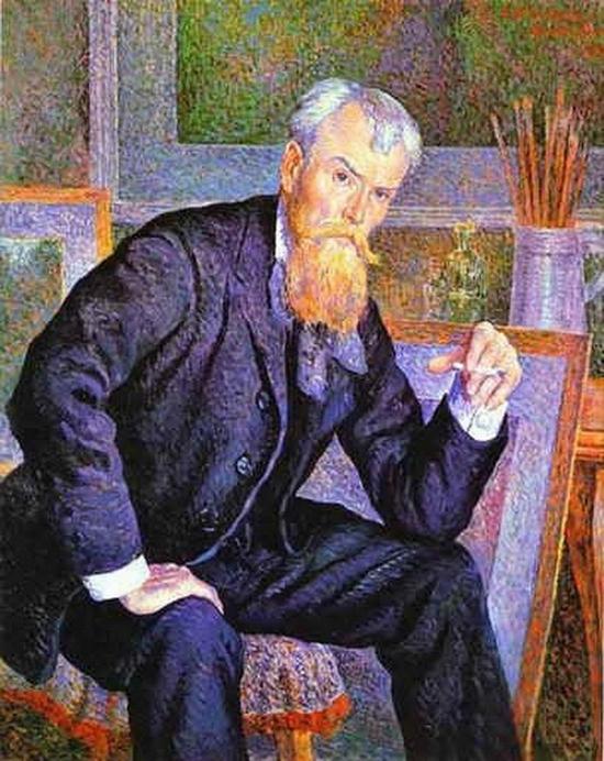 Maximilien Luce, Portrait de Henri Edmond Cross