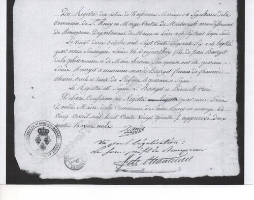 La Baïonnette royale N° 11, Louis Bourget....