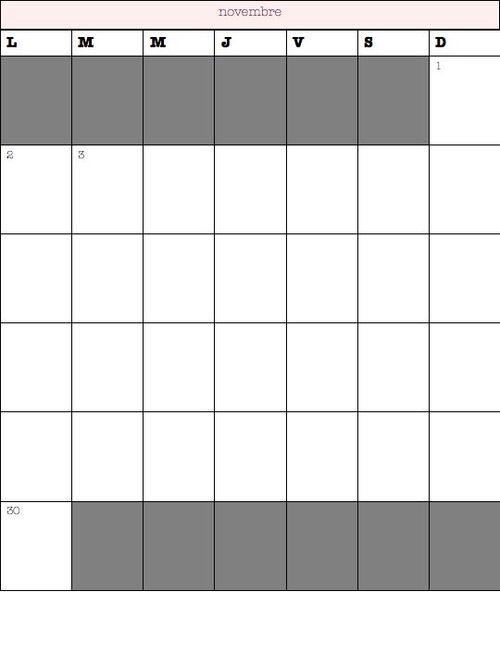 lire un calendrier - ce1