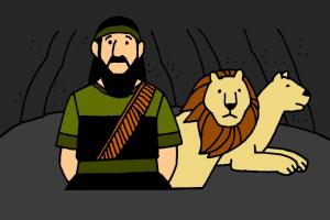 8_Daniel et Lions