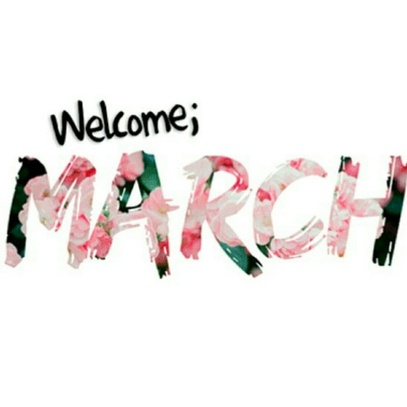 Image de march, spring, and welcome