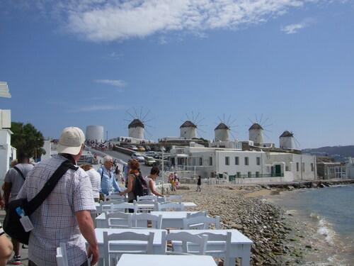 Les Cyclades : Mykonos.