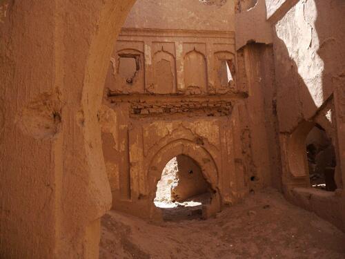 Des ruines du fort