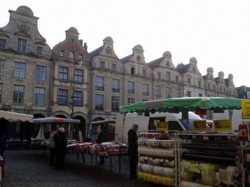 le marché du samedi..
