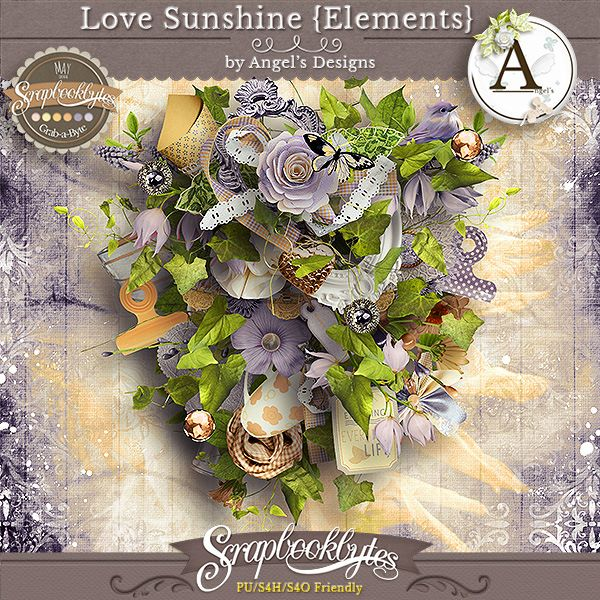 """Love sunshine"" by Angel's Designs"