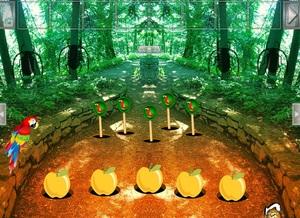 Jouer à Scarlet macaw forest escape