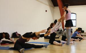 dance ballet class barre yoga class