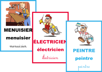 Cartes de vocabulaire