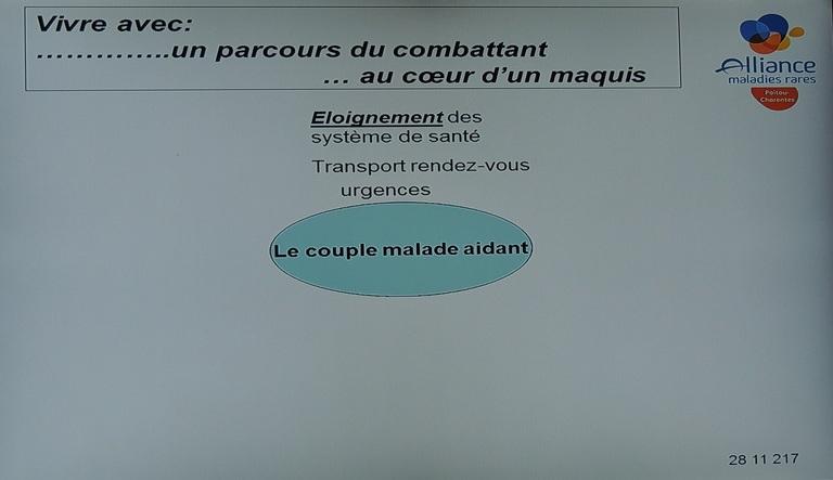 Réunion Alliance Maladies Rares.