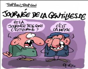 13 NOVEMBRE : JOURNEE DE LA GENTILLESSE