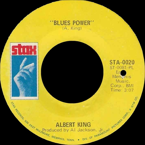 "Albert King : Album "" Live Wire / Blues Power "" Stax Records STS 2003 [ US ]"