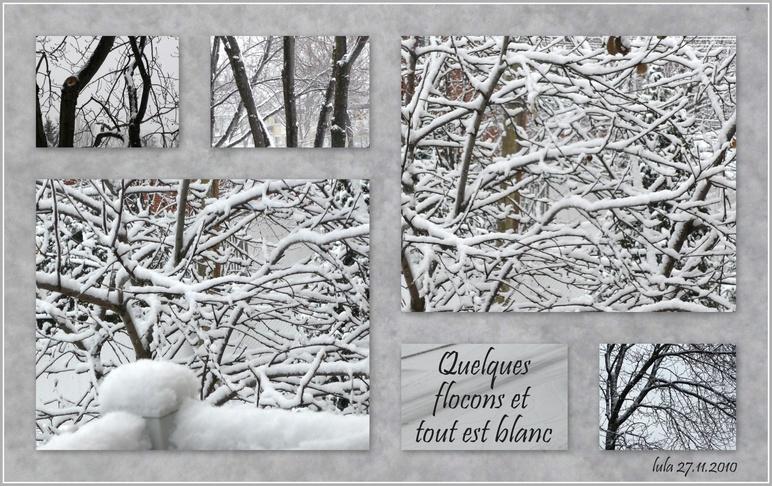 Bonjour l'hiver... Mon 3ème hiver !