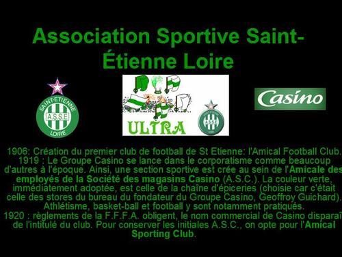 PPS MES CREATIONS Association Sportive Saint-Étienne Loire