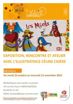 Exposition/animation à la bibliothèque de Mouzeil (44)