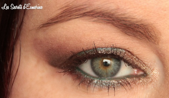 chocolat, pistache, kiko, marron, vert, color impact, eye, yeux, maquillage, makeup, rain smoky shades