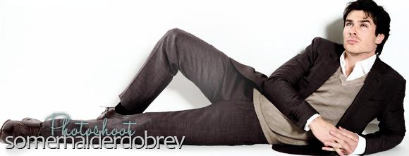 Ian Somerhalder photoshoot for Prestige magazine