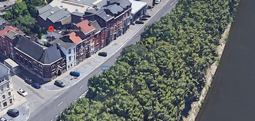 Angleur (Liège) - Quai des Ardennes 71 (Google Satellite - Vue 3D)