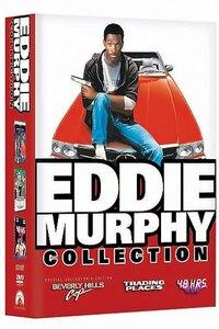 Eddie Murphy Collection (16 Fims) (1982 - 2000) : ----  Eddie Murphy est devenu célèbre aux États-Unis grâce à ses talents d'humoriste, découverts dans ses prestations à l'émission Saturday Night Live et ses spectacles Delirious (1984) et Raw (1987) ainsi que par sa célèbre phrase « Hey Guys! » (Salut les mecs !). Par la suite, sa renommée est devenue mondiale grâce à ses rôles dans Le Flic de Beverly Hills, Docteur Dolittle, Le Professeur Foldingue (Nigaud de professeur au Québec et au Nouveau-Brunswick), et plus récemment dans Dreamgirls, pour lequel il a reçu une nomination aux oscars de 2007 (meilleur second rôle). La chaîne Comedy Central le classe au dixième rang des plus grands comiques américains de tous les temps..