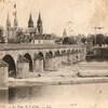 moulins le pont de l'allier 1922
