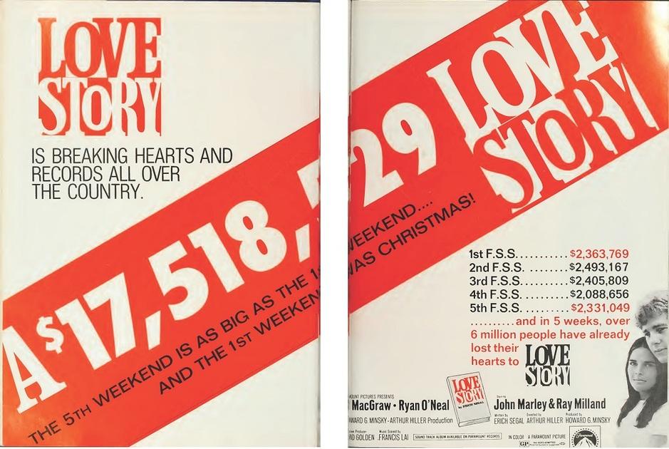BOX OFFICE USA DU 13/01/1971 AU 19/01/1971