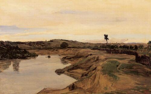 Le voyage en Italie pour un peintre français au XIXe s., J-B-C Corot par Manon (211)