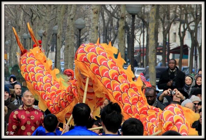 Défilé du Nouvel An chinois
