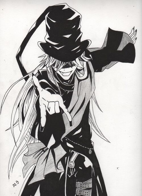 Undertaker - Black Butler ~ by Lou Mongereau