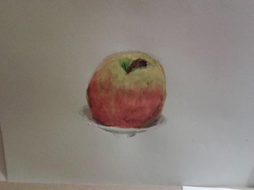 Peinture de la pomme