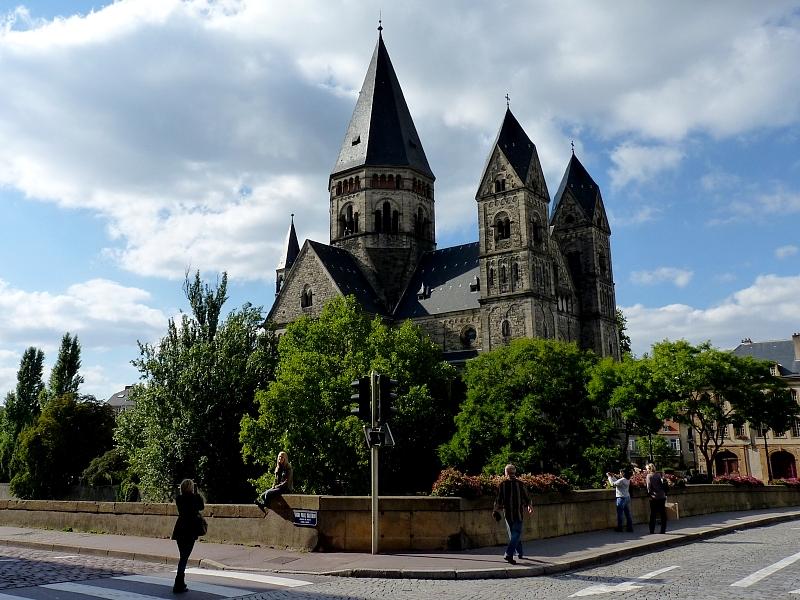 Metz / Autour du Temple Neuf...