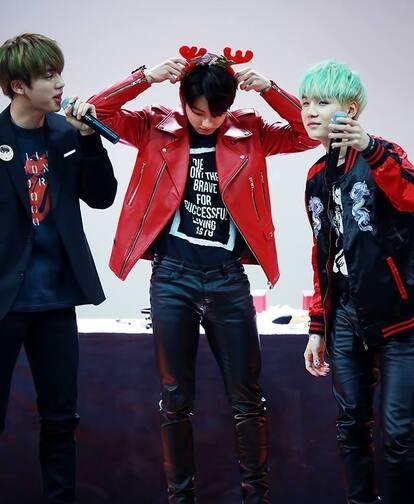 BTS fansign event 20-12-15 Jungkook