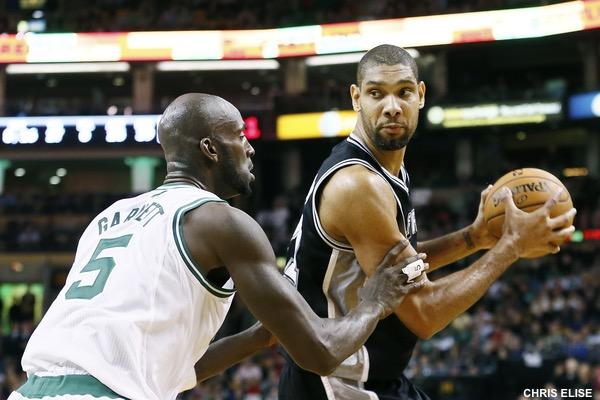 Kevin Garnett vs Tim Duncan : bientôt le clap de fin
