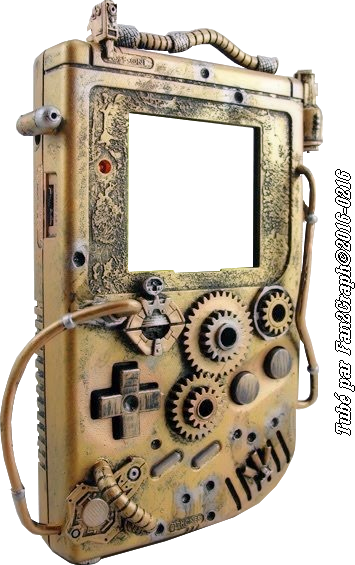 Game Boy Streampunk