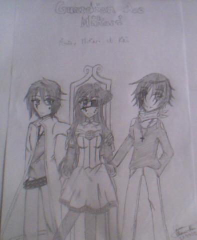 Aito, Mikari et Kei