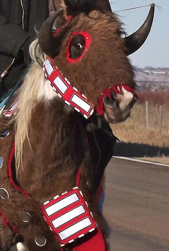 1862 Memorial Horse Ride, Dec. 26, 2013 - Santee, Ne