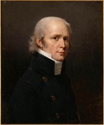 Charles Percier (par Robert Lefèvre - Château de Versailles)